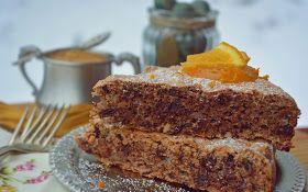 Troll a konyhámban: Narancsos csokis diós habcsóktorta - paleo