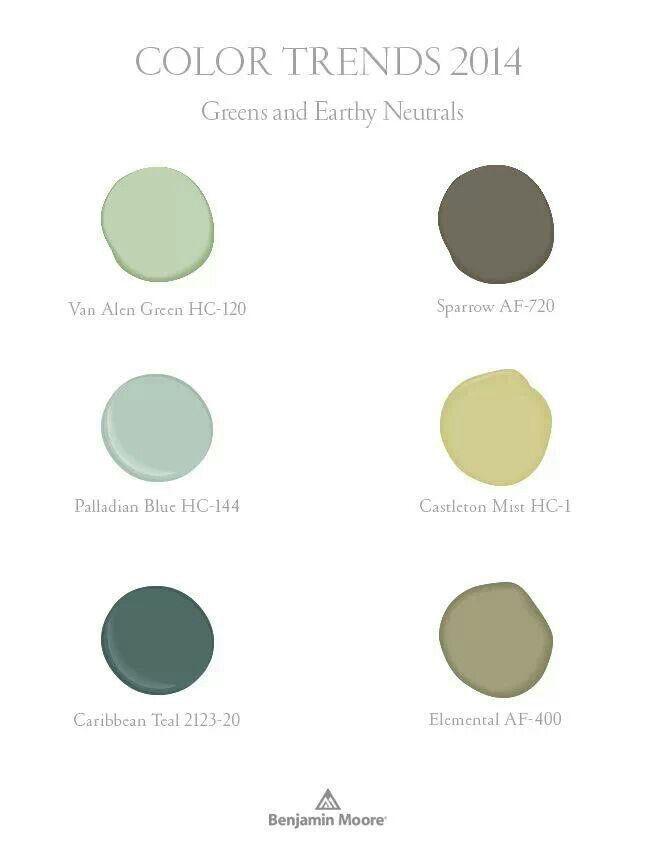 Color trends 2014 paint colors pinterest paint for Benjamin moore paint colors 2014