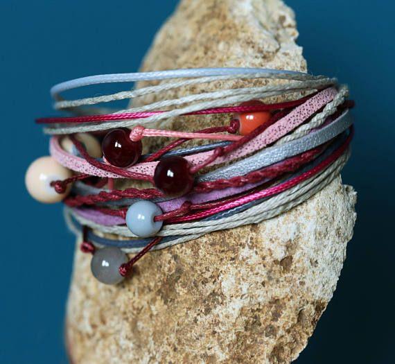 Boho bracelet Hippie bracelet Festival bracelet Beaded
