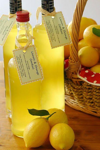 Lemon & Orange Cordial