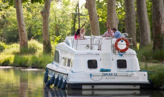 Tourisme fluvial sur péniche sans permis