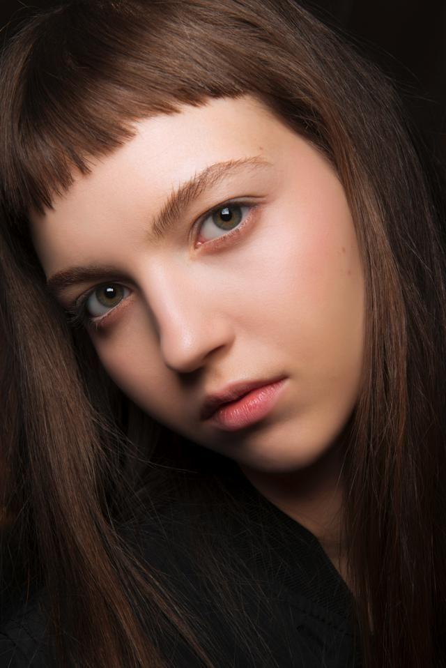 Frangia corta capelli lunghi