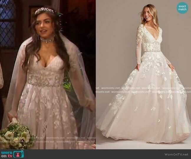 Ciara S Wedding Dress On Days Of Our Lives In 2020 Ball Gowns Wedding Ball Gown Wedding Dress Ball Gowns