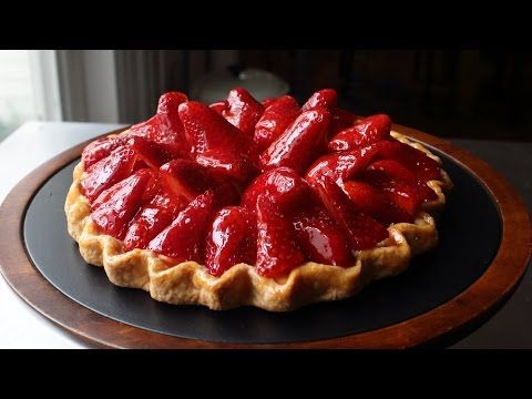 Food Wishes Video Recipes: Fresh Strawberry Tart – Now with 100% Less Tart Pan