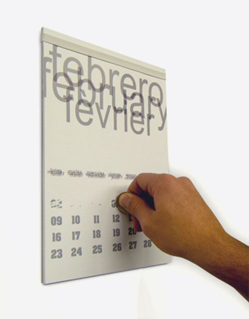 Museum of Creative Calendar Design - Calendar