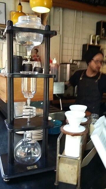 Cold, 8 hour drip coffee,  boom!