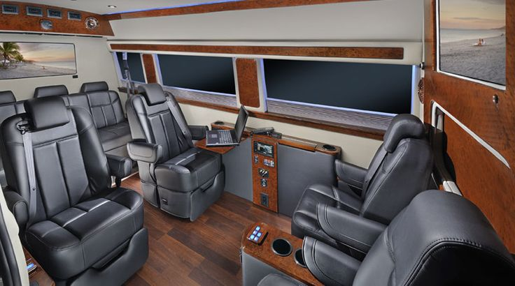 Custom Sprinter Vans | Luxury Conversion Vans | Sprinter Van | Midwest Automotive Designs