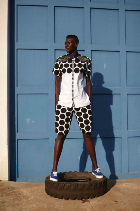 Laurence Airline Spring Summer 2015 collection. ~African Prints, African women dresses, African fashion styles, African clothing, Nigerian style, Ghanaian fashion ~DKK
