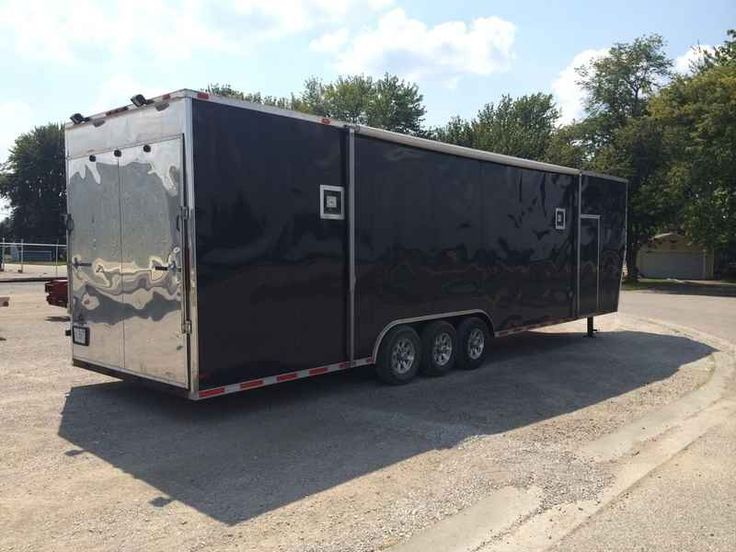 Used 2013 Husky Cargo Husky Gooseneck Trailer ATVs For Sale in Illinois. 2013 Husky Cargo Husky Gooseneck Trailer, The gooseneck chassis is made entirely from heavy duty square tubing - Heavy duty tubing cross members in the walls and ceiling with 14 gauge cross straps in the floor and ceiling to remove the twist and torque while towing. A jack can be placed under a corner of our 52 enclosed trailer, raised, and have less than 1/4 deflection in the rear end. This a tough commercial duty…