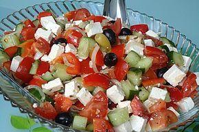 Griechischer Bauernsalat (Rezept mit Bild) von celine2103 | Chefkoch.de