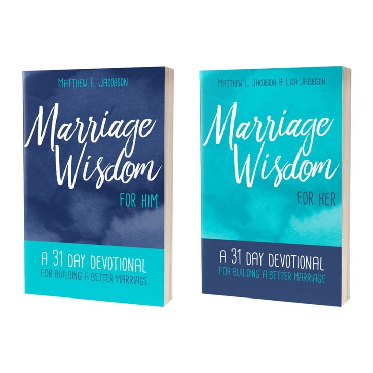 Marriage Wisdom for Her / Marriage Wisdom for Him – 2 Pack