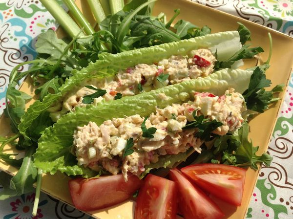Low Calorie Tuna Salad