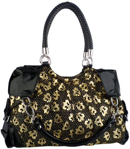 http://peakmomentum.org/?qpn-pinnable-post=golden-royal-fleur-de-lis-printed-designer-inspired-convertible-hobo-satchel-tote-bag-purse-handbag-wquad-handles First impressions make a big impact. This designer inspired handbag printed with Golden Fleur-de-lis pattern that carry on these royal symbols on both sides. Magnificent and fashionable purse gives you two different carrying options with quad handles. Wear it as a satchel with double braided ...