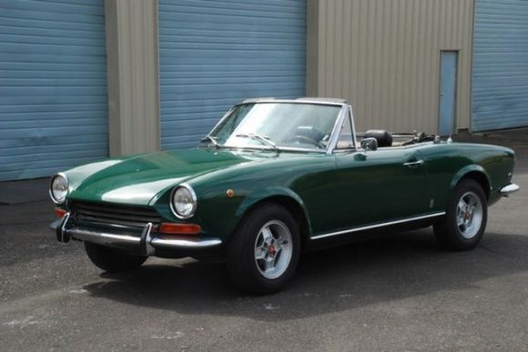 1969 Fiat 124 Spider  - Wonderful Fiat Spider was the first car I ever drove with 4 wheel disk brakes and a 5 speed transmission. This was back in the day when American cars were rear drums and 4 speeds. The braking and handling of this car just blew me away. It was like a revelation.