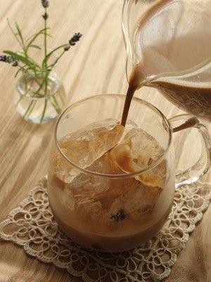濃い紅茶とミルクたっぷり、ほんのりと甘みを付けた仕上がり