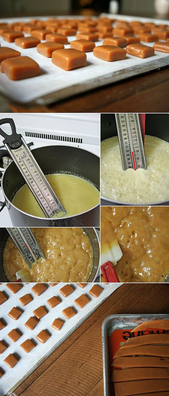 The Basics: How to Make Soft Caramel Candy
