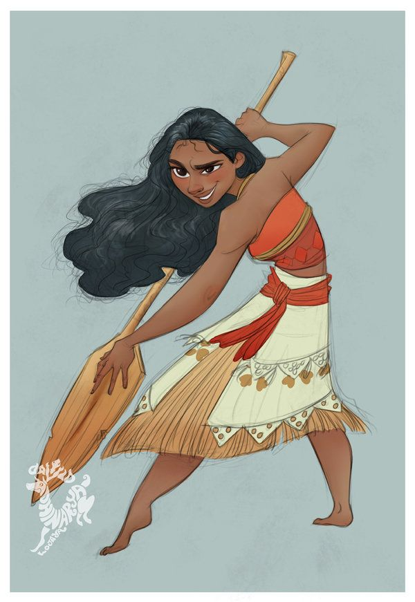 Moana by DavidAdhinaryaLojaya on DeviantArt. I can't wait for this to come out!
