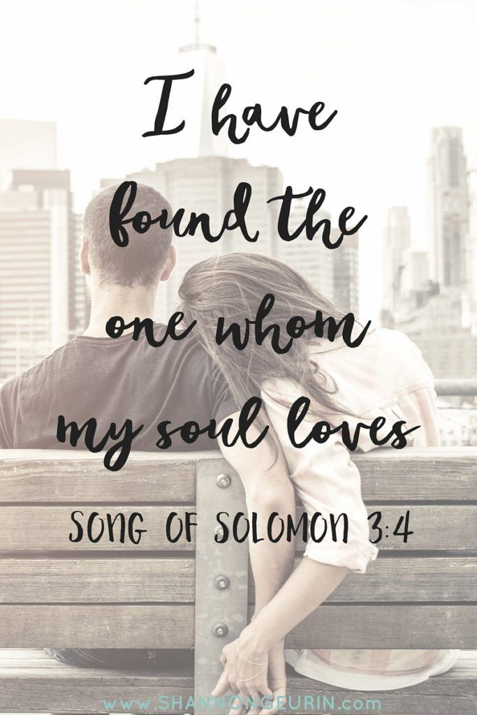 The One Whom My Soul Loves http://shannongeurin.com/one-soul-loves/