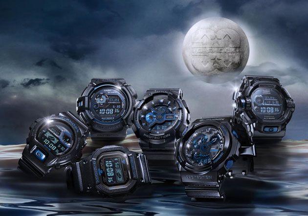 Casio G-Shock-Initial Blue 30th Anniversary