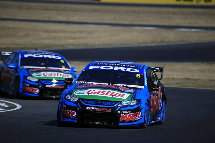 Mark Winterbottom and Chaz Mostert