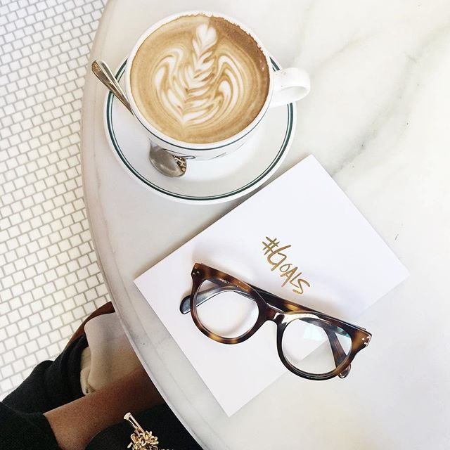Throwback to lattes at Ralph's during #nyfw last fall. Set your 2016 #Goals in our journals available at www.ssprintshop.com  #ssprintshop