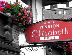Pension Elisabeth: Willkommen