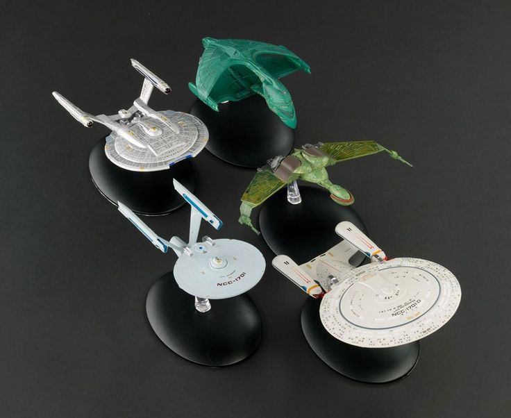 Eaglemoss Collection's Trek Ship Set