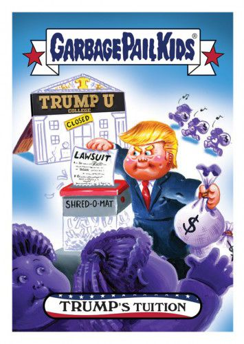 2016 Topps Garbage Pail Kids DisgRace for the White House 84