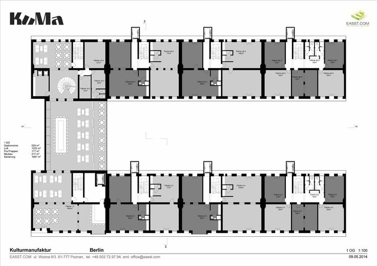 Kuma / +1 Level / Plans / Cultural Center, Berlin, Germany