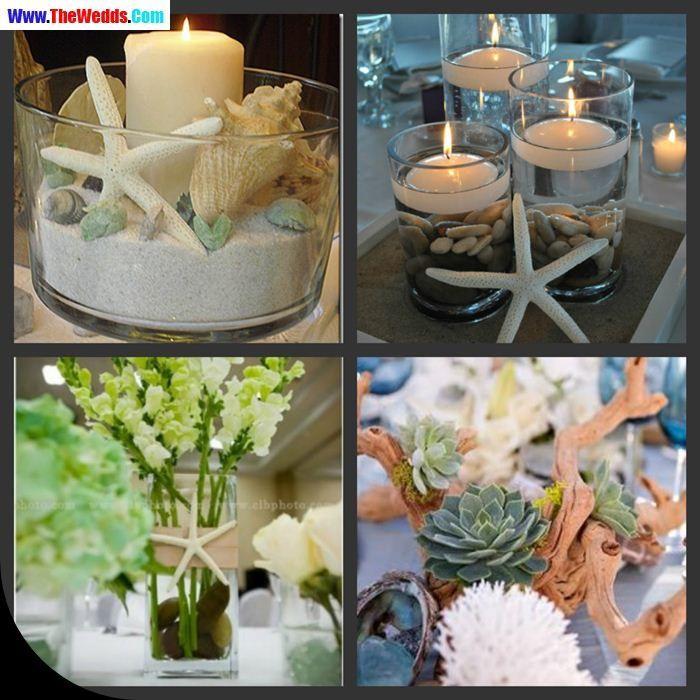 diy beach theme wedding centerpieces%0A beach theme wedding centerpieces images