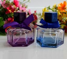 30CC Glass Perfume Atomizer Bowknot Model, 30ML Empty Perfume Packaging Bottle, Glass Mist Spray Bottle, 15 Bottles/Lot(China (Mainland))