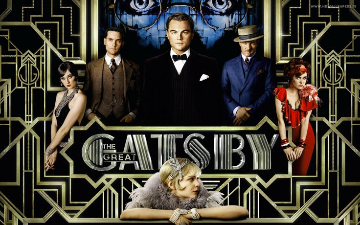 """The Great Gatsby""(2013).Directed by Baz Luhrmann. Starring: Tobias Maguire, Leonardo DiCaprio, Carey Mulligan, Joel Edgerton. It's a feature film, one of the best book-to-screen adaptations by F. Scott Fitzgerald. This film is about a rich, kind and cheerful man whose name is Gatsby. He loved a woman with all his heart but she left him later.  Recommended age-16+"