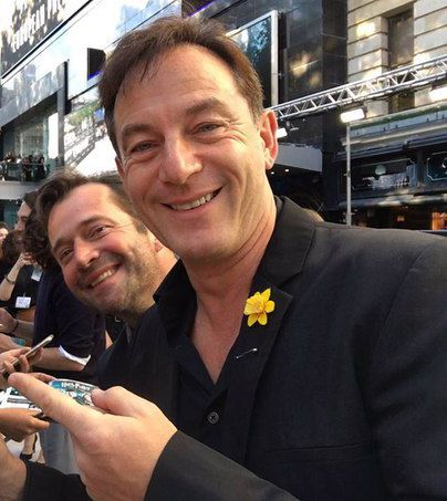 Jason Isaacs being photobombed by James Purefoy utterly priceless :-)