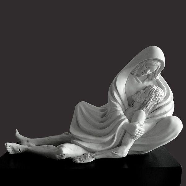Statua di pietà – ALPHA & OMEGA - Timothy P. Schmalz