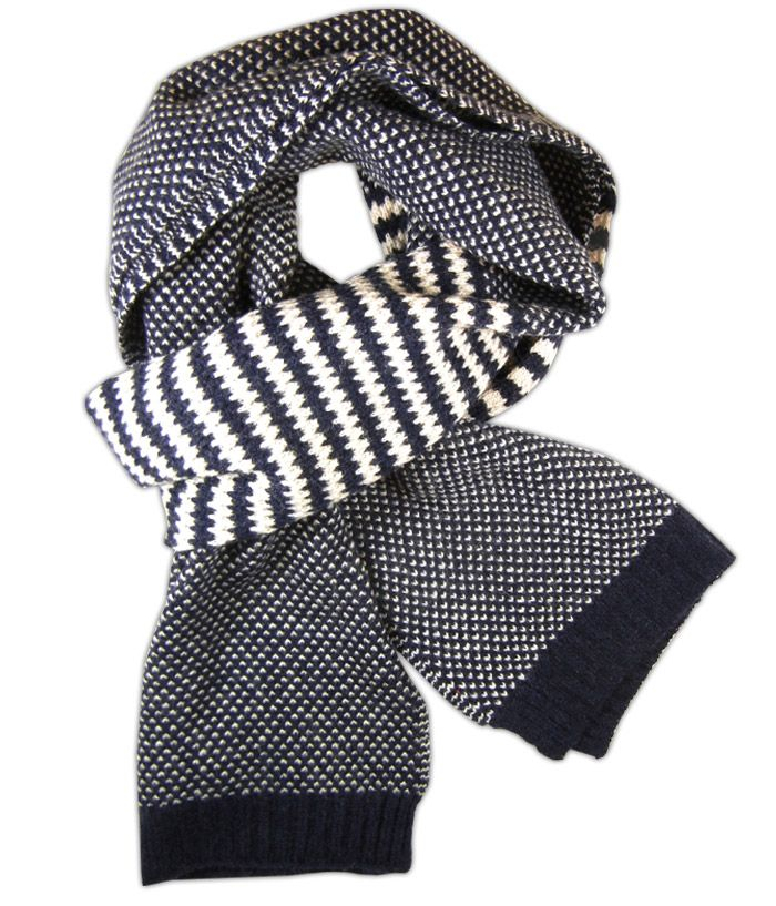 - Uptown Knit - Navy (Scarf) - Browse our Bow Ties, Cufflinks, Pocket Squares and Tie Bars