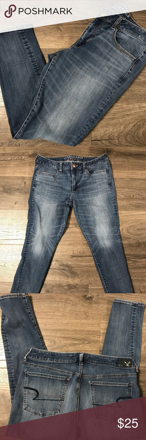 American Eagle Jegging 360 degrees Stretch Size: 12 Short American Eagle Outfitters Jeans
