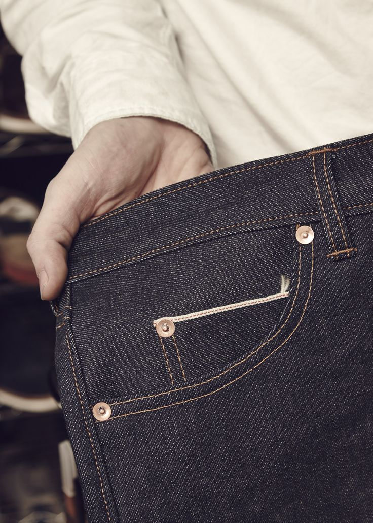It's all in the details  Oliver Sweeney x Billiam Jeans
