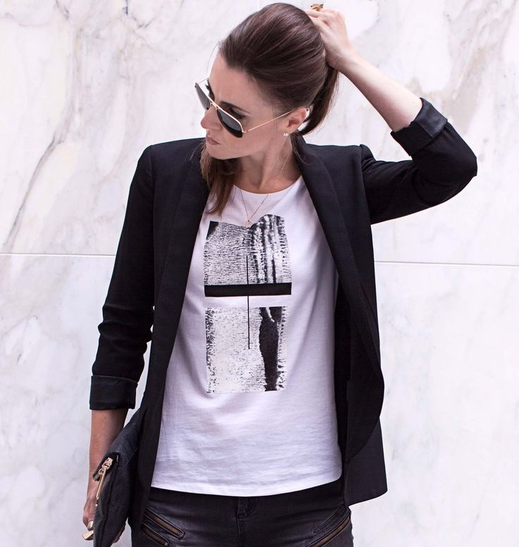 Textured Squares T-shirt   Free Worldwide Delivery   Urban Gilt