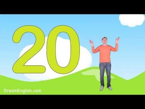 Let's Count to 20 Song For Kids - YouTube. The next step from Dream English…
