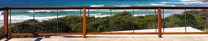 Stainless Steel Cable Wire Balustrades, Pool Balustrading, Fencing, Timber Balustrades - Sydney, Melbourne, Perth, Brisbane, Australia