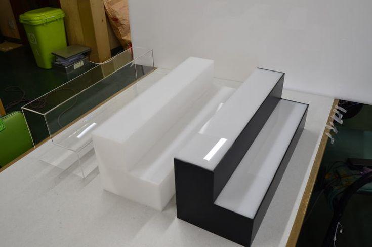 ねんどろいど用ひな壇の試作verを作ってみたの件|ヨメテラスのフィギュア用ハイエンドアクリルケース