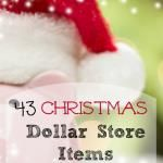The TOP 43 Christmas Deals Dollar Store Items