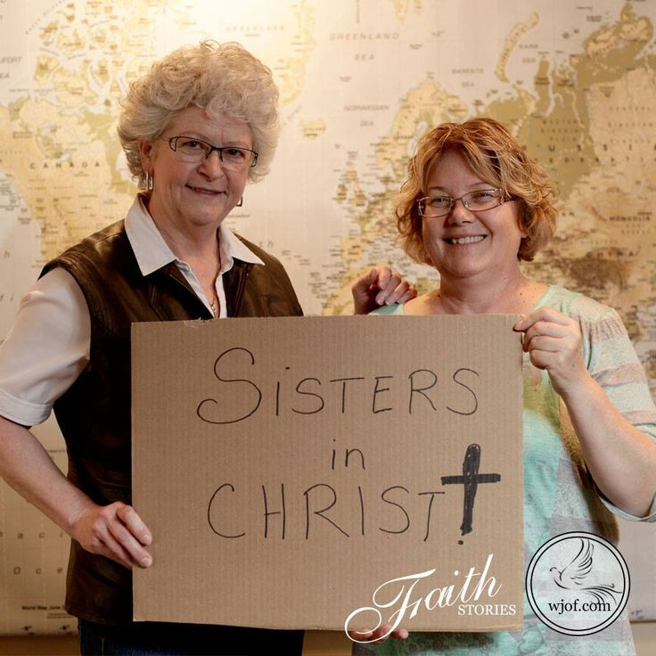 """""""Sisters in Christ"""" - a beautiful faith story"""