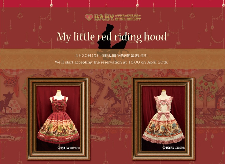 "BTSSB does a lot of ""Little Red Riding Hood"" inspired things ^-^: Red Riding Hood"