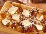Polenta Pie with Sausage: Patissada di Polenta (with chicken hearts & gizzards)