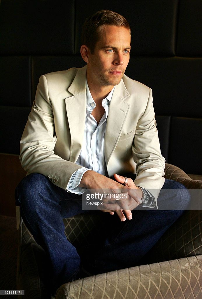 American actor Paul Walker poses during a photo shoot at the Park Hyatt Hotel on April 3, 2006 in Sydney, Australia. Walker is in Sydney to promote his new film 'Eight Below'.
