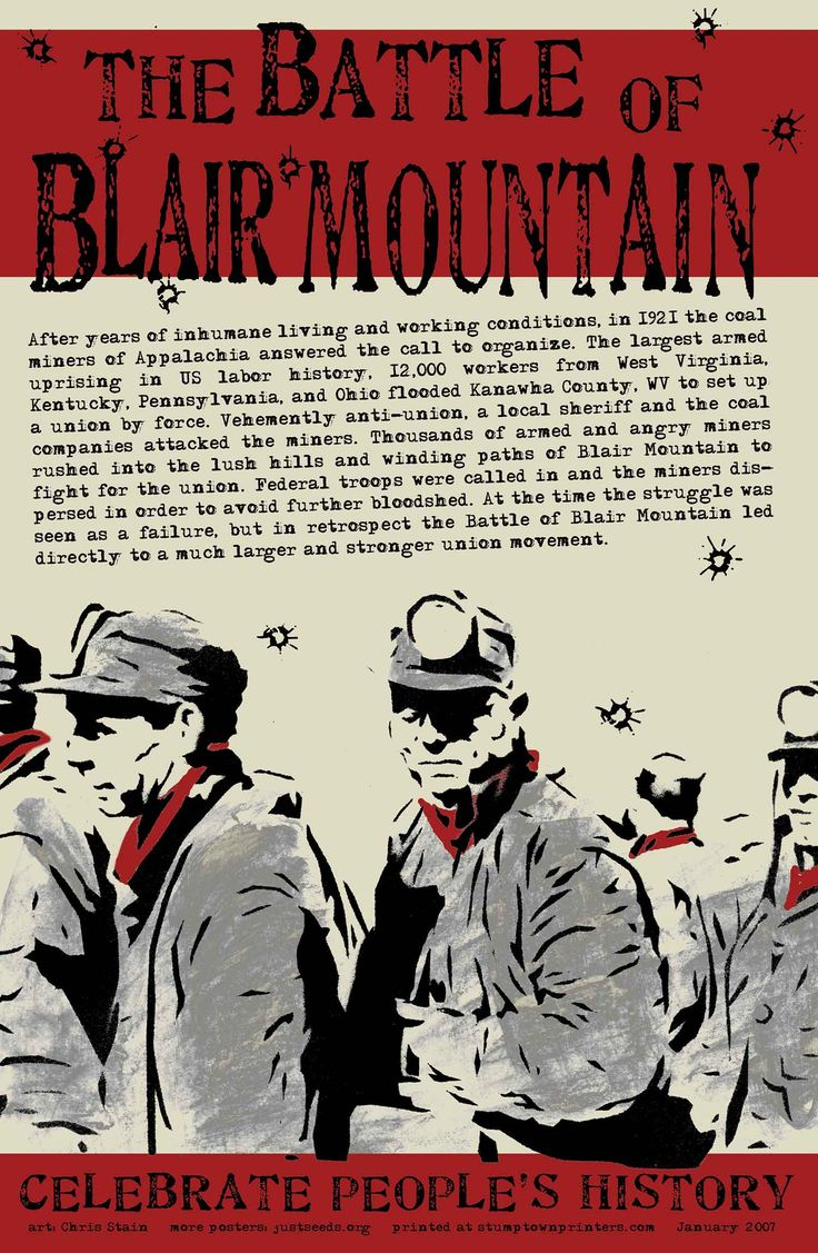 Justseeds | The Battle of Blair Mountain