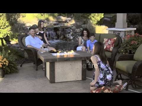 Outdoor GreatRoom: Fire Pits At PatioLiving.com   YouTube · Fire Pit  TableElectric ...