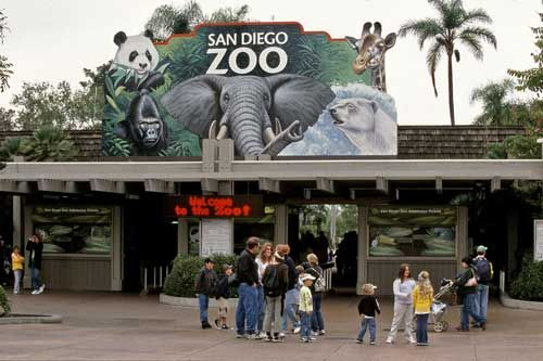 The San Diego Zoo. Perfect vacation spot for families. Kids love to see animals, they won't be bored. California loving