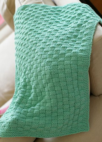 Baby Blanket Knitting Pattern Easy : 1000+ ideas about Beginner Knitting Blanket on Pinterest ...